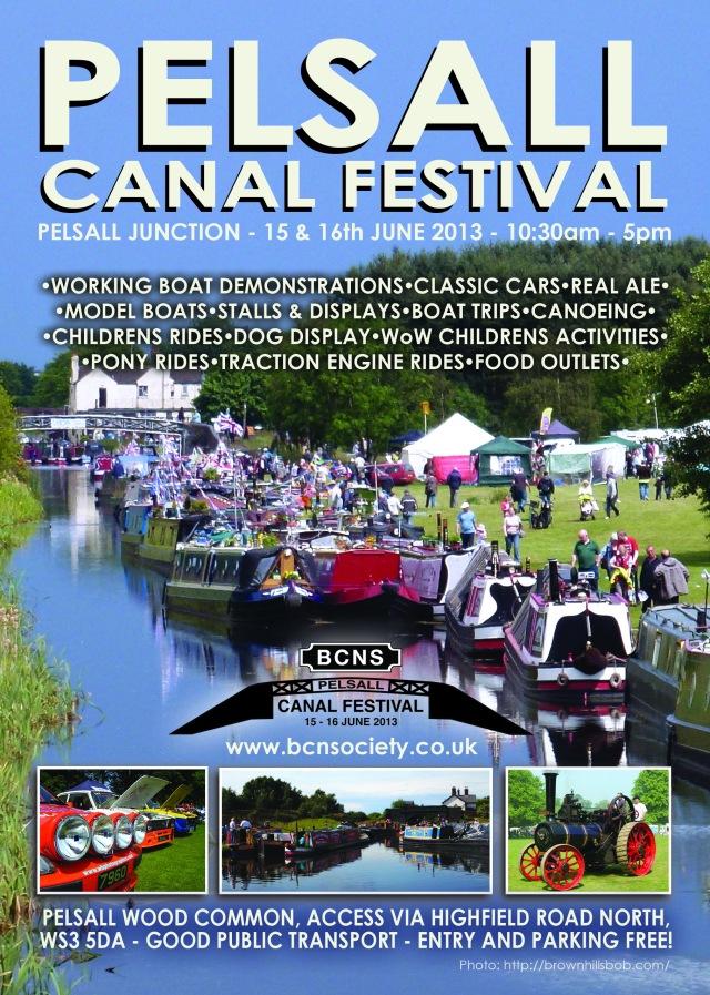 Pelsall Canal Festival